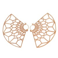 Deco Fan in Rose Gold