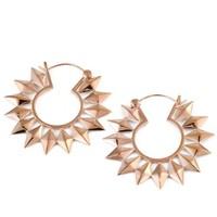 Small Pinwheel in Rose Gold