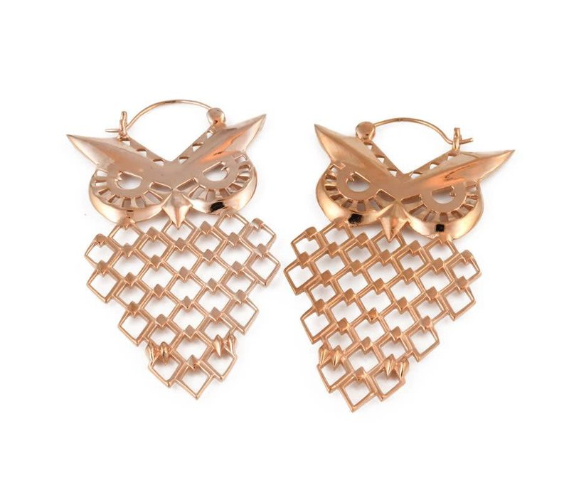 Owl in Rose Gold