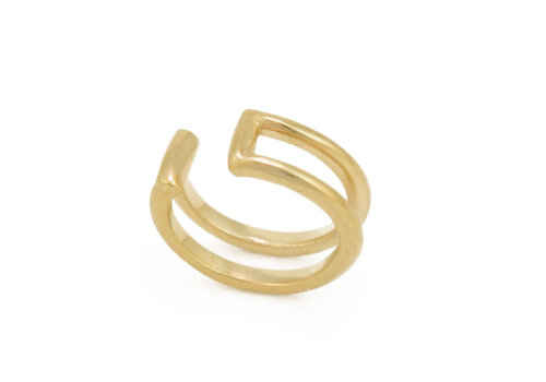 Tawapa Double Rail Ear Cuff