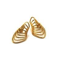 Warrior Ear Cuff in Yellow Gold