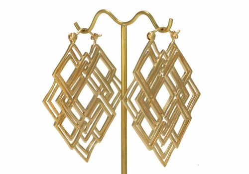 Tawapa Geometric in Yellow Gold