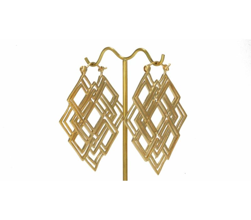 Geometric in Yellow Gold