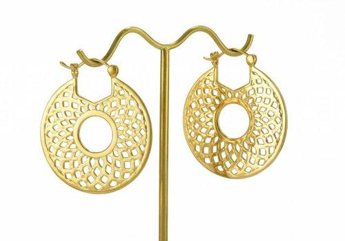 Tawapa Mini Mandala in Yellow Gold