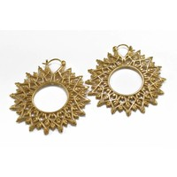 Lattice in Yellow Gold