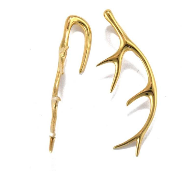 Antler in Yellow Gold