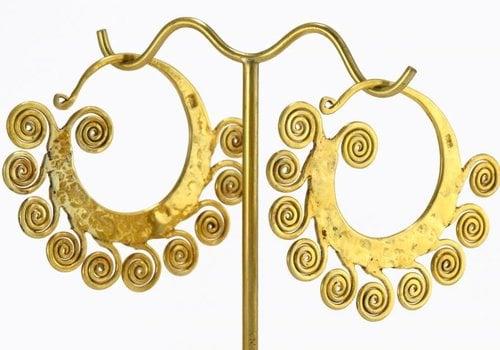 Tawapa Small Fancy Lao in Yellow Gold