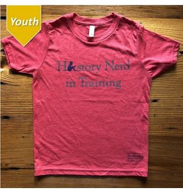 "The History List ""History Nerd in Training"" Kids Shirt"