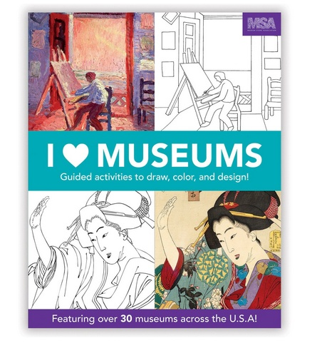 I Heart Museums Activity Book by Mudpuppy