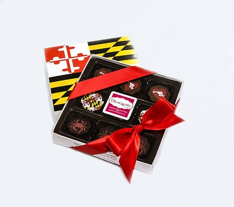 Chouquette Chocolates Chouquette 9 pc Maryland Assortment