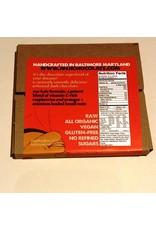 Jinji Chocolate Large Chocolate Bark - Raspberry/Orange/Brazil Nut (72%)
