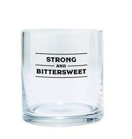 Bar Glass - Strong and Bittersweet
