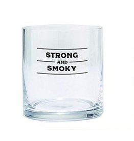 Bar Glass - Strong and Smokey
