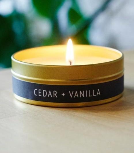 228 Grant Street Candle Co. Cedar + Vanilla