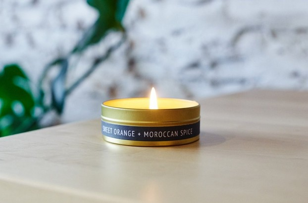 228 Grant Street Candle Co. Sweet Orange + Moroccan Spice