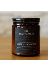 228 Grant Street Candle Co. Amber + Sandalwood
