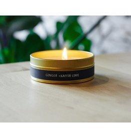228 Grant Street Candle Co. Ginger + Kaffir Lime Travel Tin