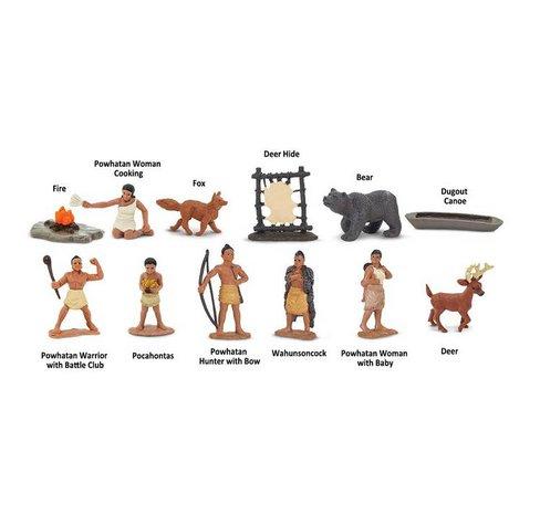 Safari Ltd. Powhatan Indians TOOB®