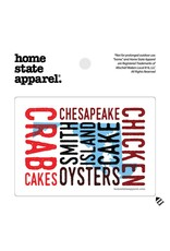Home State Apparel Home. MD Cookin' Sticker