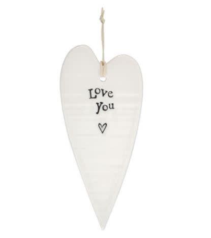 Love You Heart Ornament