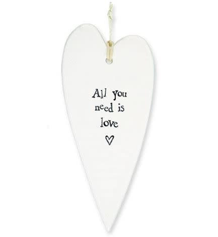 All You Need... Heart Ornament