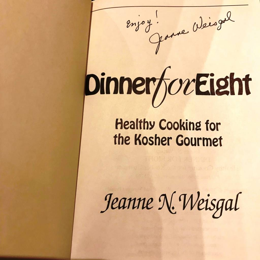 Dinner for Eight: Healthy Cooking for the Kosher Gourmet