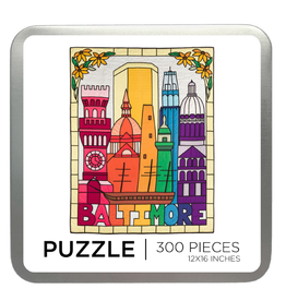 300 Pc Puzzle - Baltimore: Through a Glass Brightly
