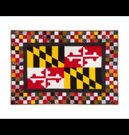 Magnet - Maryland Flag Quilt