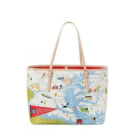 Spartina 449 Bay Dreams Tote Bag