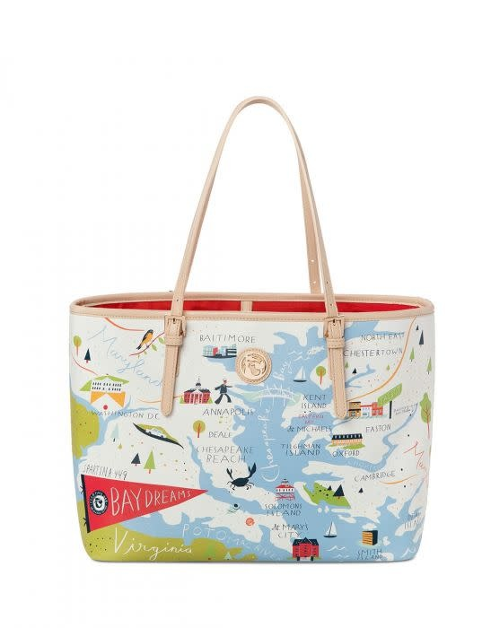 Spartina 449 Bay Dreams Tote Bag