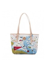Spartina 449 Bay Dreams Small Tote Bag with Zipper
