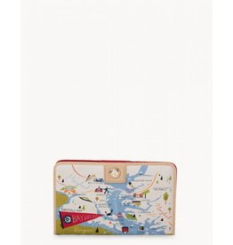 Spartina 449 Bay Dreams Snap Wallet