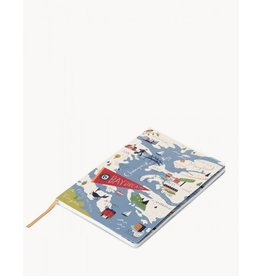 Spartina 449 Bay Dreams Notebook- 5x7, Ruled