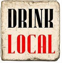 Studio Vertu Marble Coaster - Drink Local