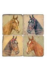Marble Coaster - Horse Heads
