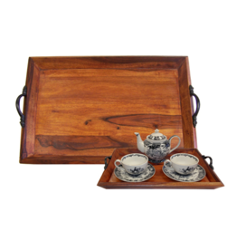 Wooden Tea Tray, Large