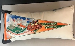 American Roadtrip American Roadtrip Pennant Pillow -  Orioles, Large