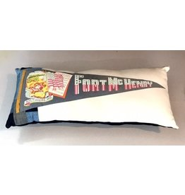 American Roadtrip American Roadtrip Pennant Pillow -  Ft. McHenry, Large