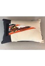 American Roadtrip American Roadtrip Pennant Pillow -  Orioles, Small