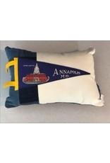 American Roadtrip American Roadtrip Pennant Pillow -  Annapolis, Small