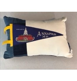 American Roadtrip American Roadtrip Pennant Pillow -  Annapolis, Small