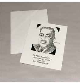 Thurgood Marshall Note Card