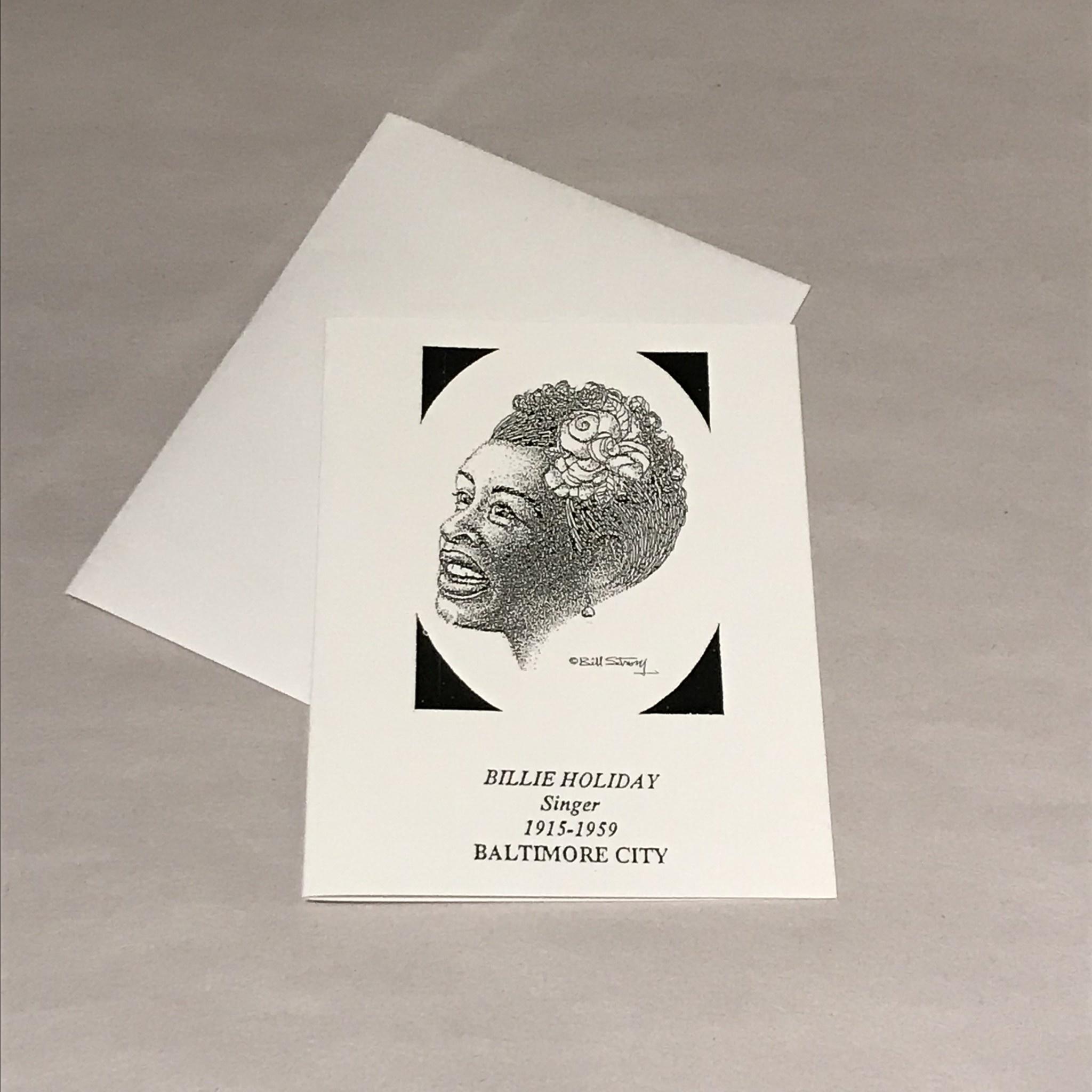 Single Card- Billie Holiday