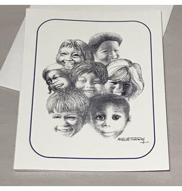 Children of the World Note Card