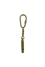 Madison Bay Company Brass Whistle Keychain