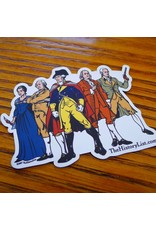 The History List Revolutionary Superheroes Sticker