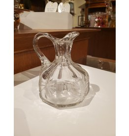 Hand-blown Crystal Cruet Bottle