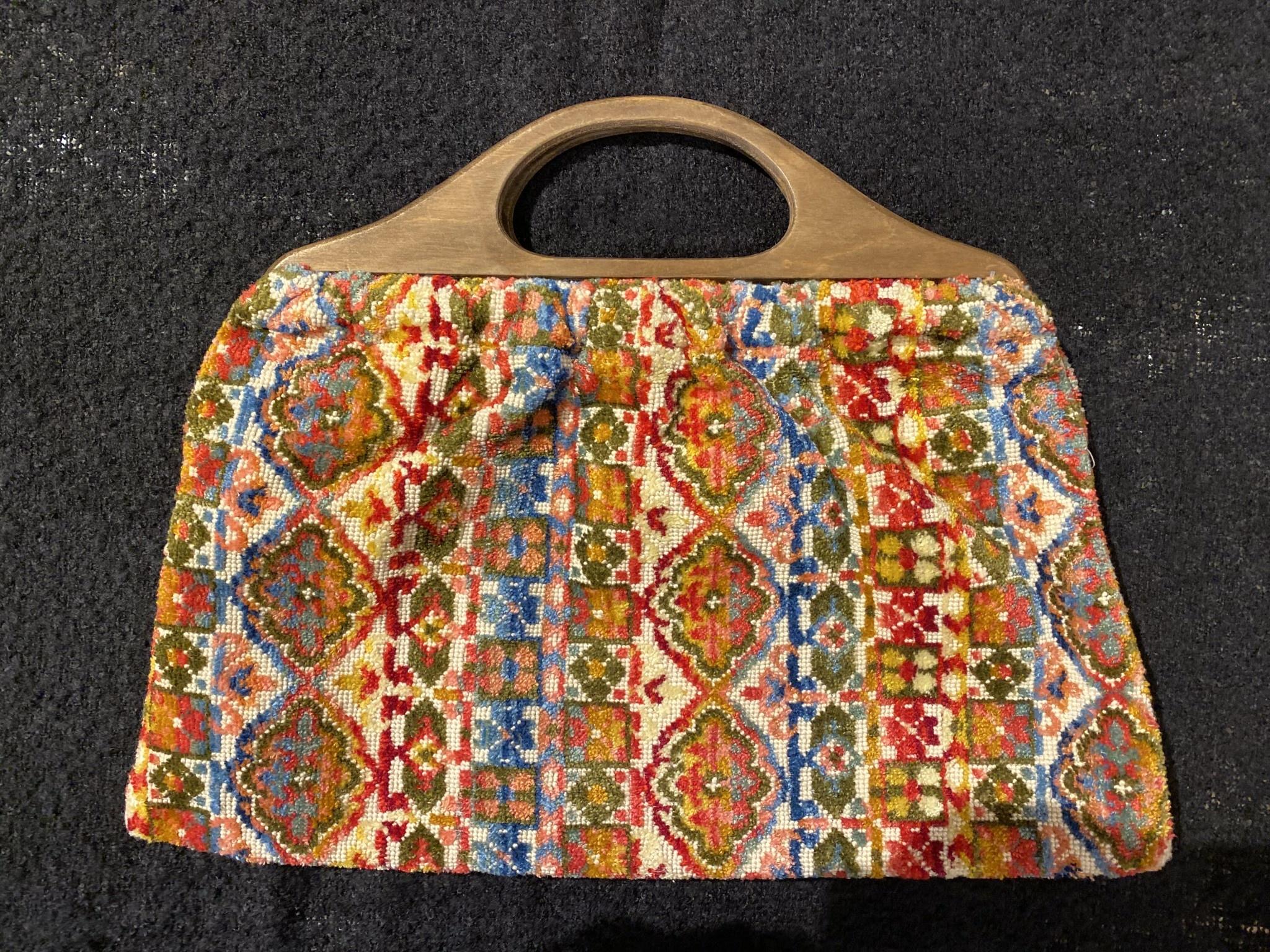 1960's Carpet Bag