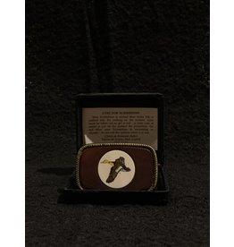 Scrimshaw Duck Belt Buckle