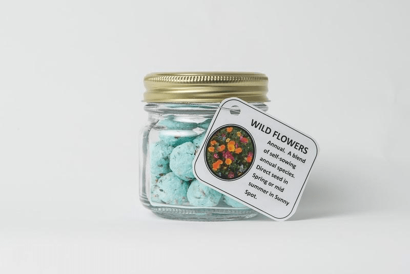 Pulp Seed Bombs - Wildflowers